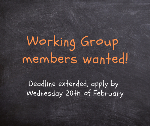 Call for members of the working group on Quality of Teaching - deadline extended!