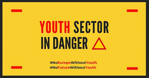 Don't let young people pay for your crisis!  CoE proposal to cut Youth Sector entirely must be rejected