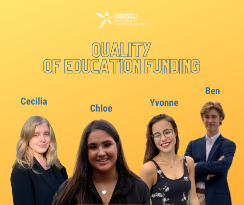 Welcome to the new Working Group on Quality of Education Funding!