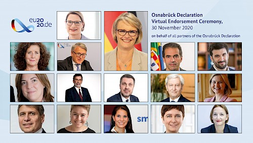 Shaping change in VET for the next 5 years - The Osnabrück declaration